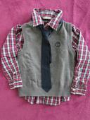 košile, vesta, kravata Lindex vel.98/104, 104