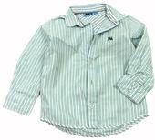 Pruhovaná košile s výšivkou v. 104, 104