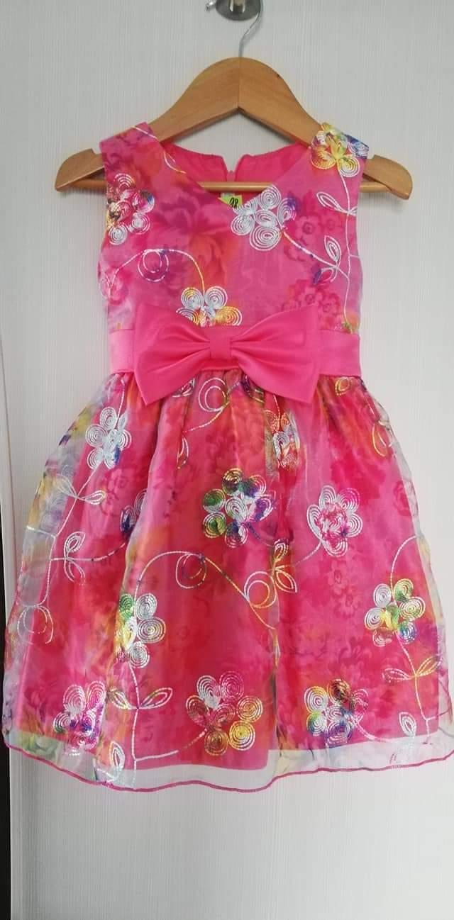 Nádherné šaty vel. 98 - Obrázek č. 1