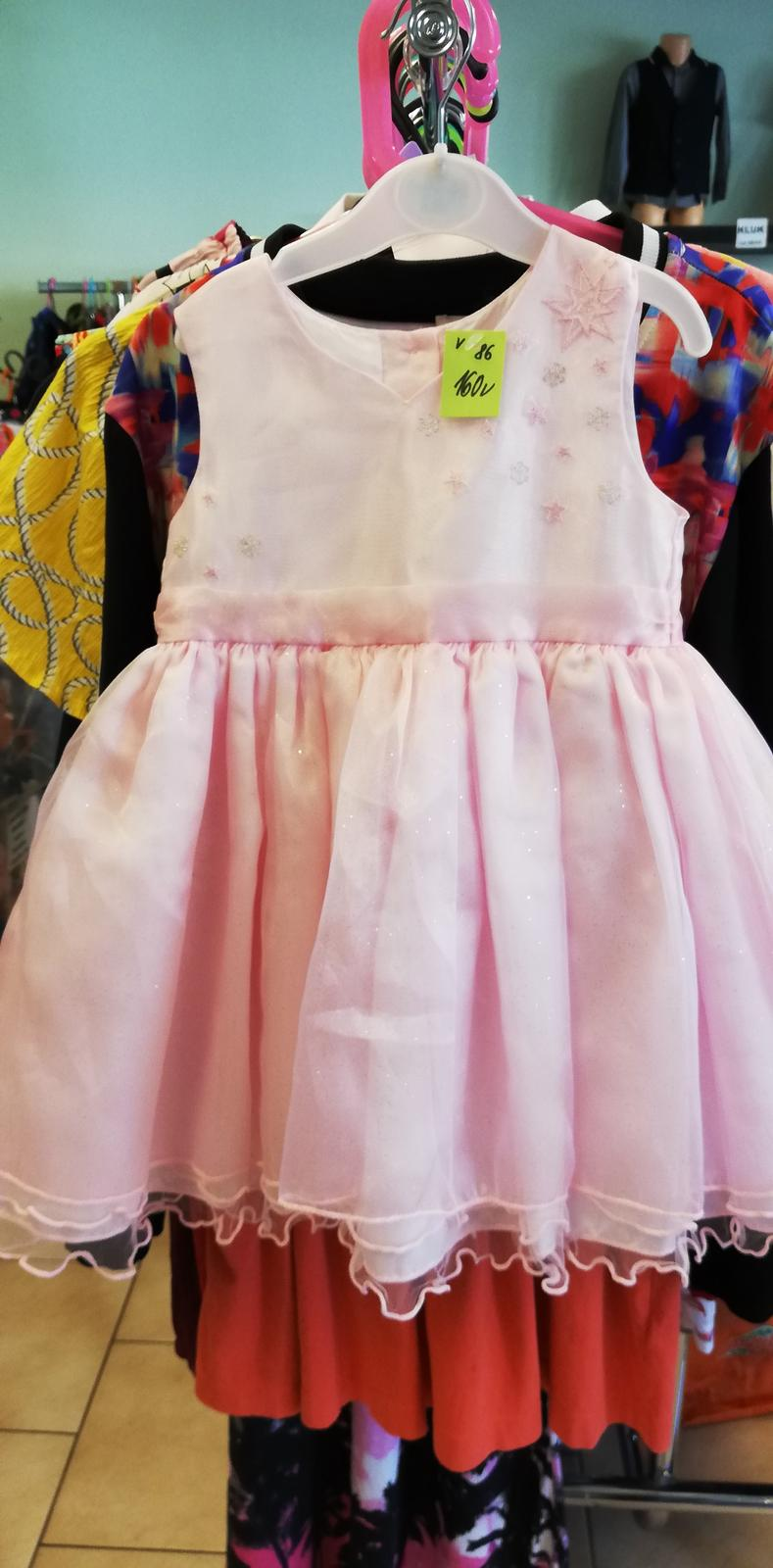 Slavnostní šaty vel. 86 - Obrázek č. 1