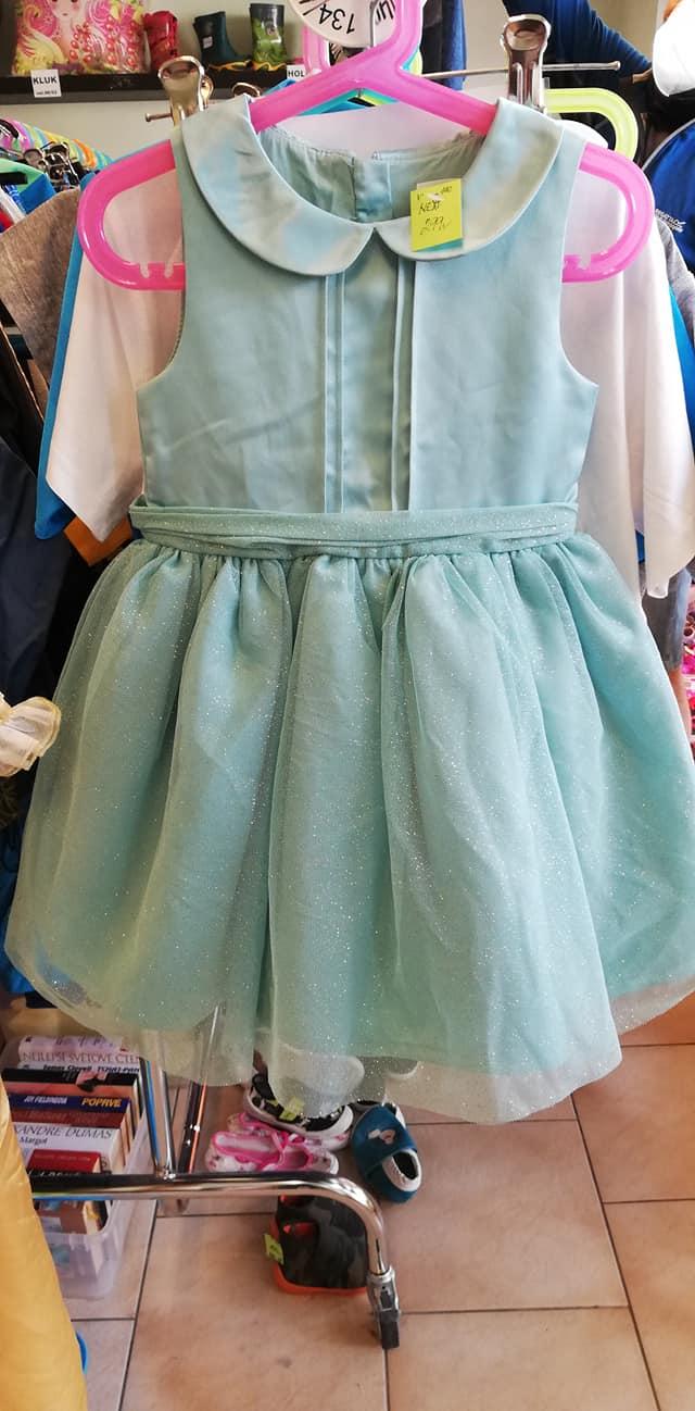 třpytivé šaty Next vel. 110 - Obrázek č. 1