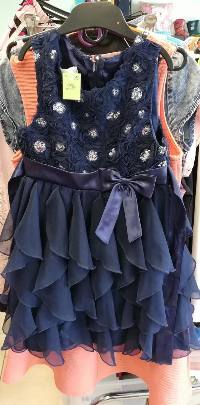 společenské šaty vel.116 - Obrázek č. 1