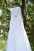Krajkové šaty mořská panna , 38