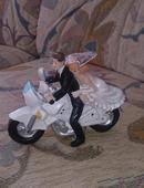 Svadobna motorka ,