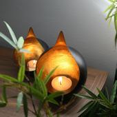 Designový svícen ve tvaru kapky, Lambert ,