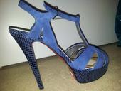Kožené sandálky, 40