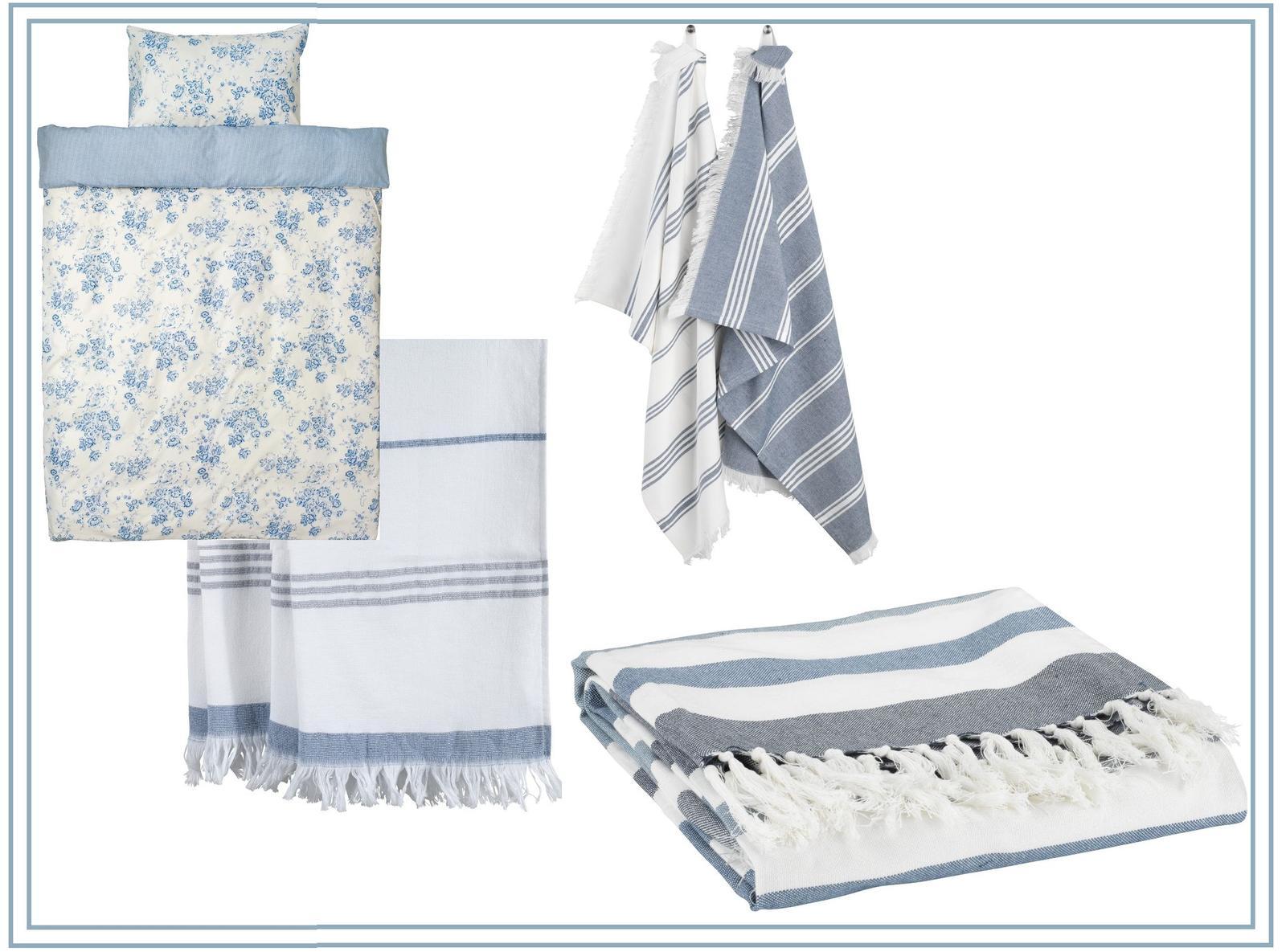 Spálňa - zmena - vymyslela som si, z uterákov dva väčšie vankúše a z utierok menšie, farebne ladia a ešte aj deku majú najnovšie, no nekúp to :D