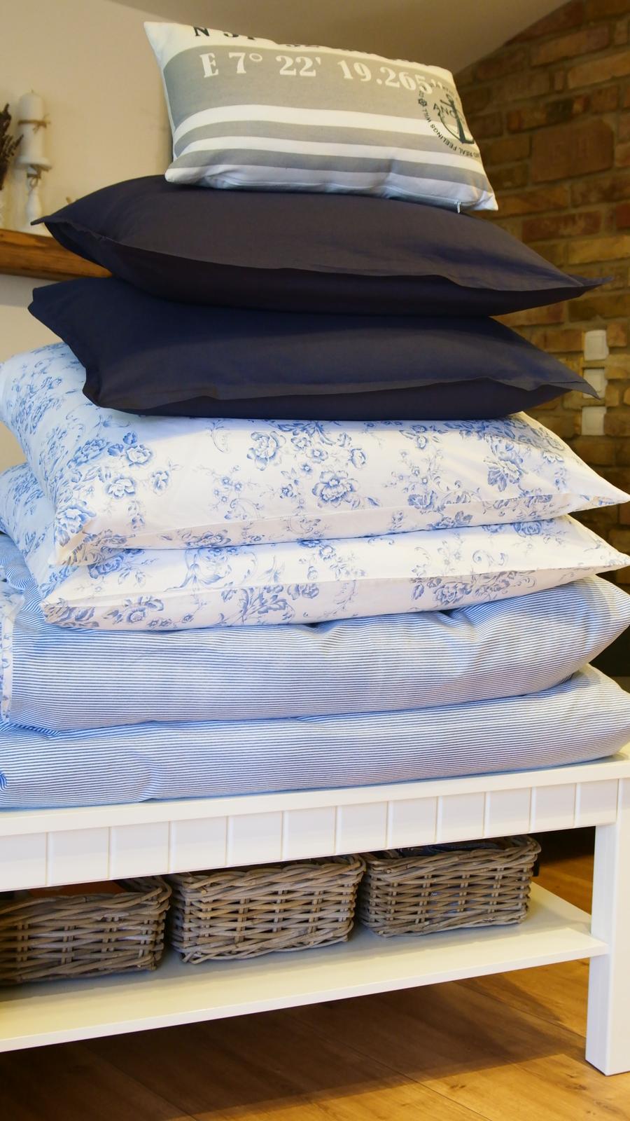 Spálňa - zmena - Posteľné prádlo pripravené