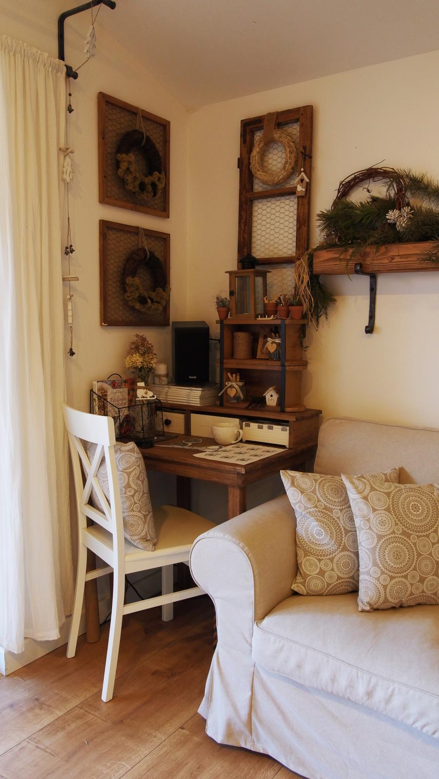 Náš domček ♡ Bramasole ♡ ... Stilo interiér aj exteriér 4. rok bývania