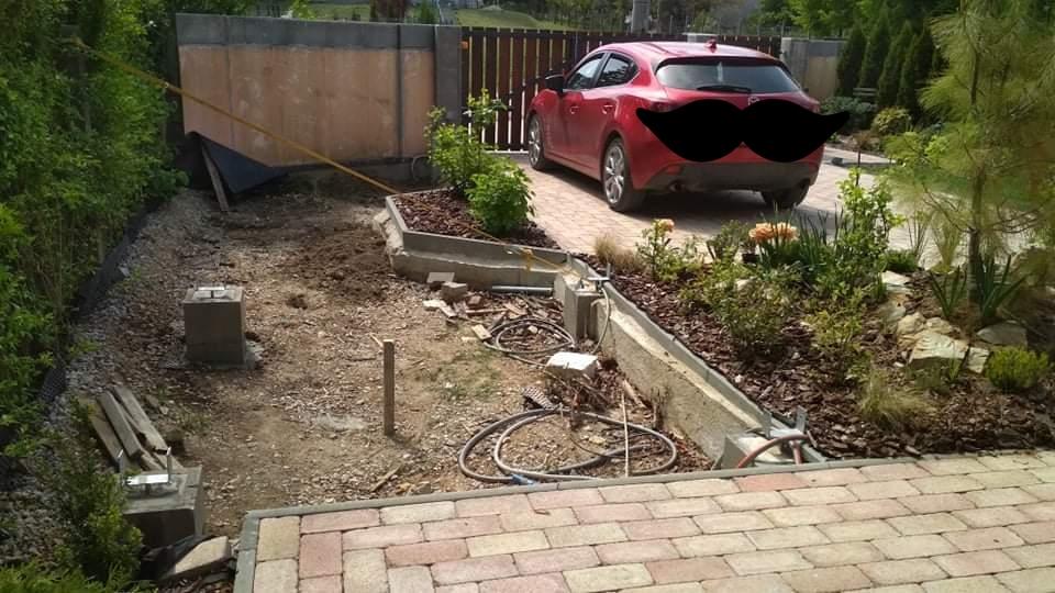 Vodný prvok v záhrade - Obrázok č. 2