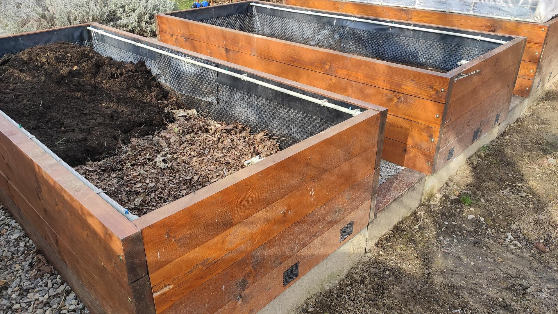Vyvýšené záhony a úžitková záhrada - sezóna 2021 ... príprava, sadenie, starostlivosť - Obrázok č. 16