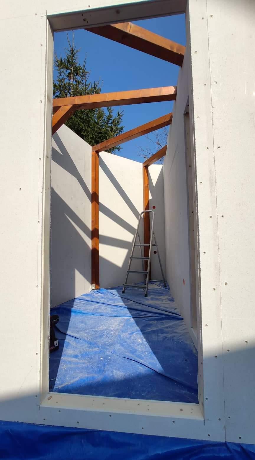 Relaxačný domček sauna a oddychová miestnosť ... plány, príprava a realizácia - Obrázok č. 78