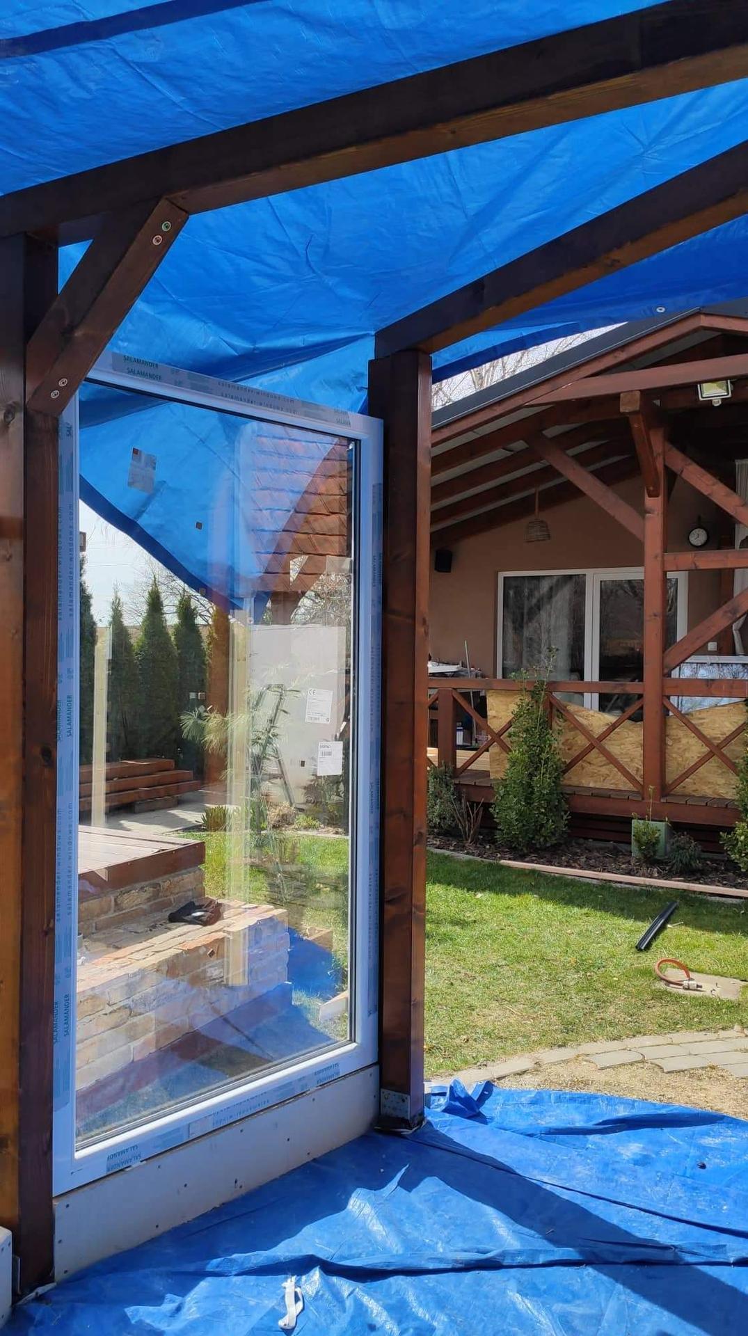 Relaxačný domček sauna a oddychová miestnosť ... plány, príprava a realizácia - Obrázok č. 80