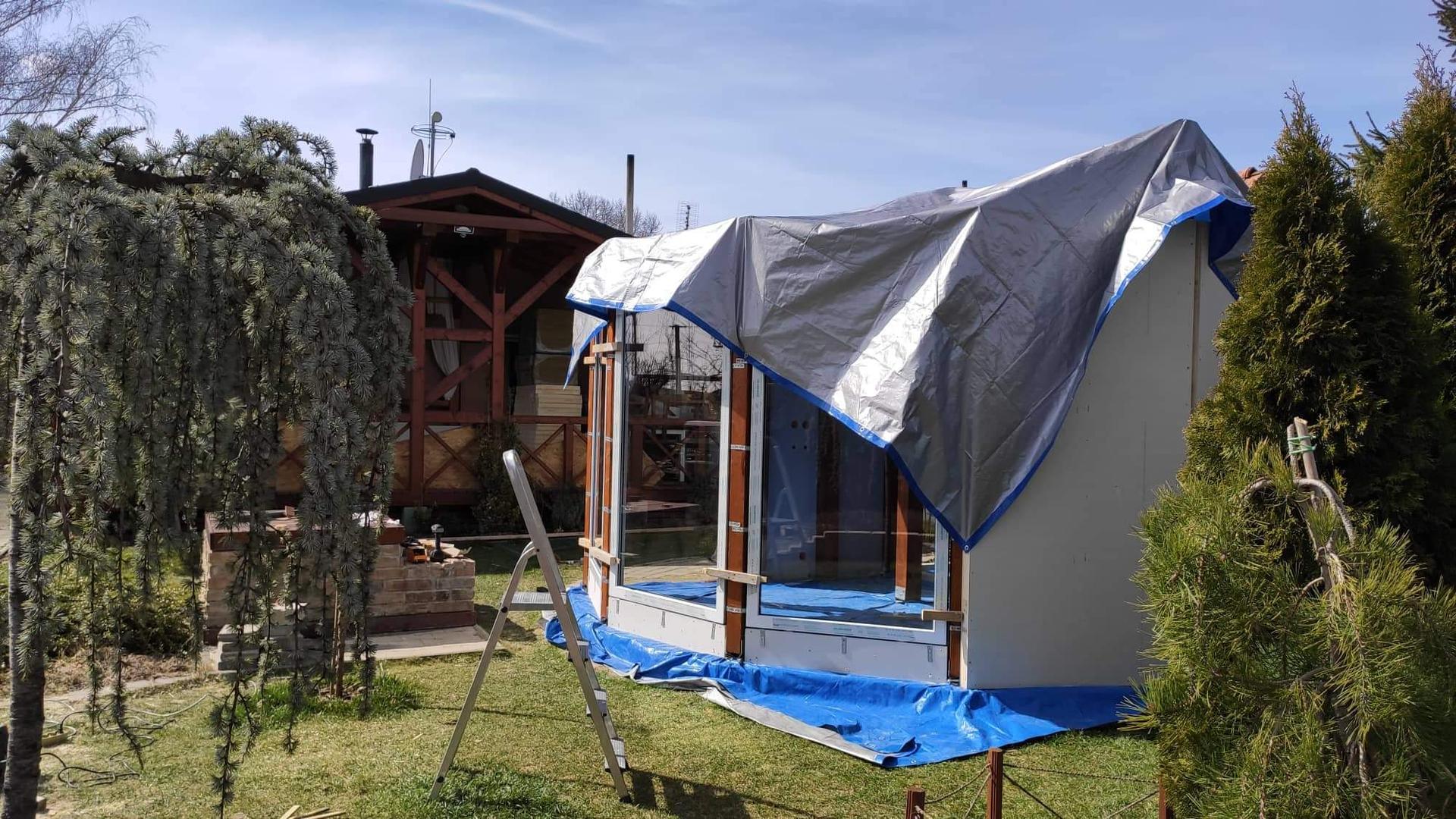 Relaxačný domček sauna a oddychová miestnosť ... plány, príprava a realizácia - Obrázok č. 82