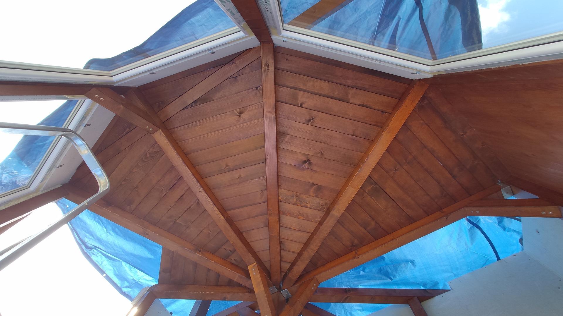Relaxačný domček sauna a oddychová miestnosť ... plány, príprava a realizácia - Obrázok č. 90