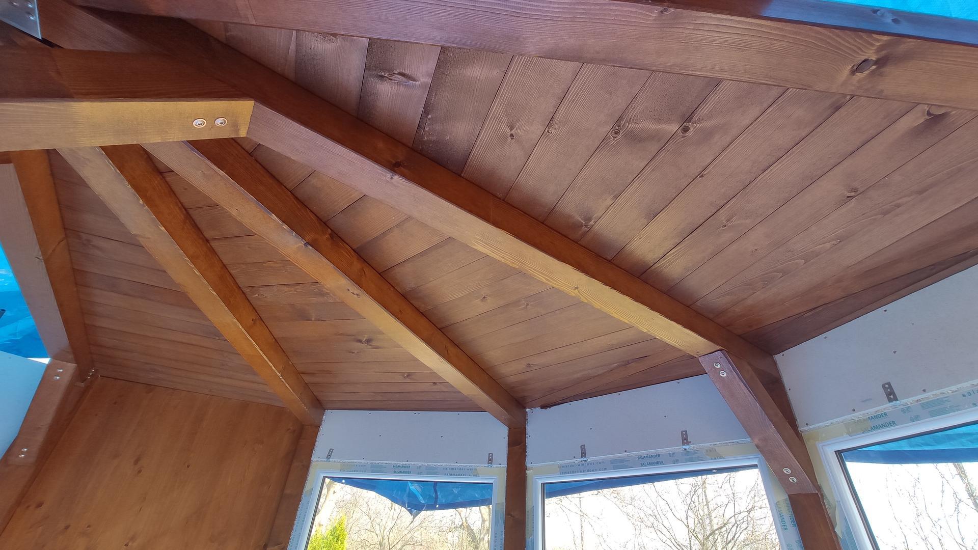 Relaxačný domček sauna a oddychová miestnosť ... plány, príprava a realizácia - Obrázok č. 91