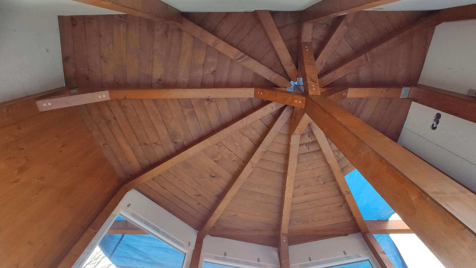 Relaxačný domček sauna a oddychová miestnosť ... plány, príprava a realizácia - Obrázok č. 92