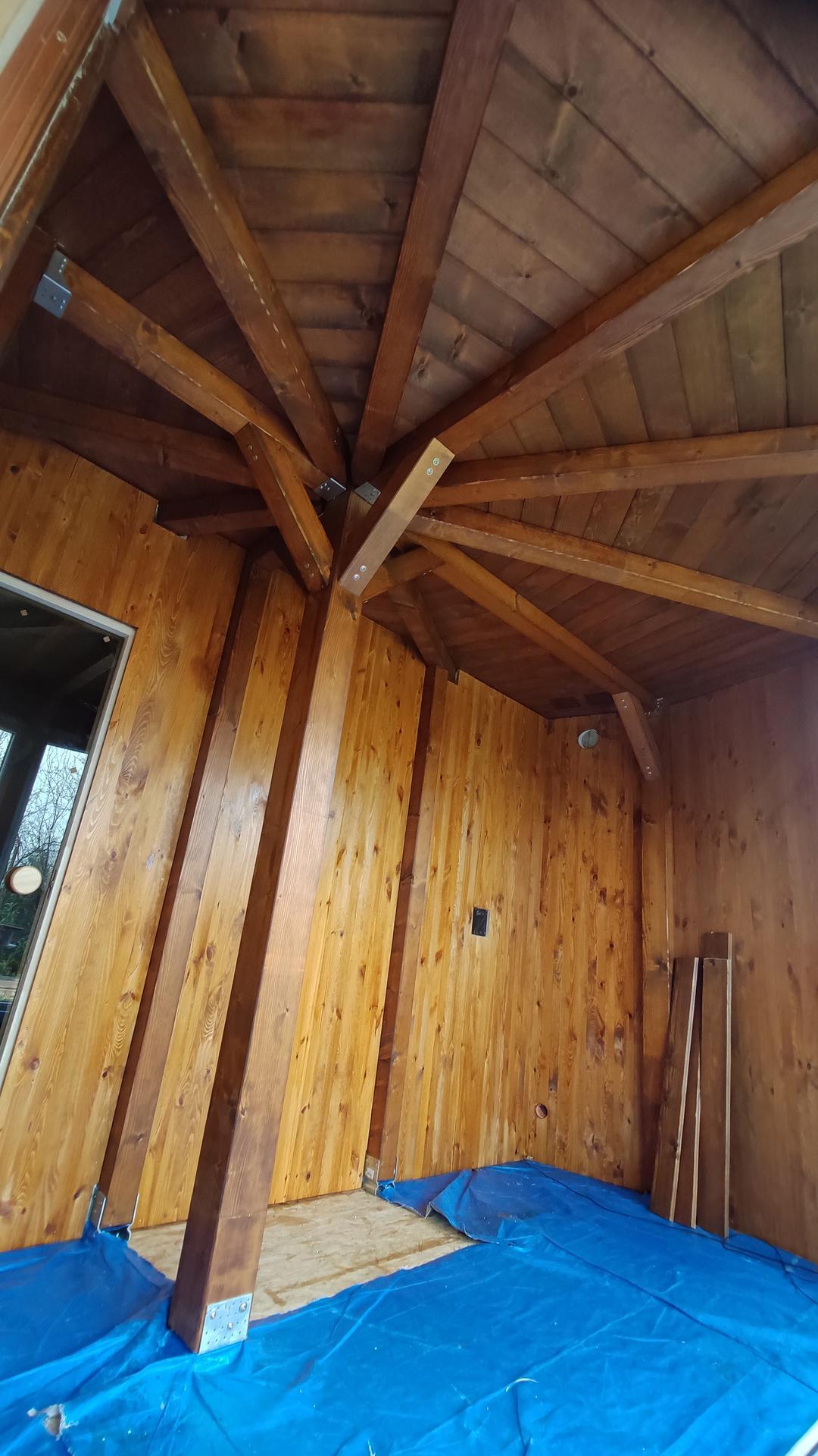 Relaxačný domček sauna a oddychová miestnosť ... plány, príprava a realizácia - Obrázok č. 99