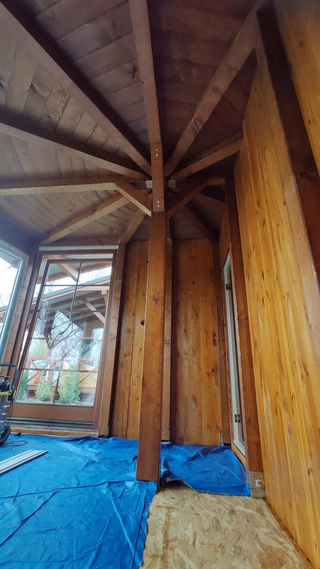 Relaxačný domček sauna a oddychová miestnosť ... plány, príprava a realizácia - Obrázok č. 102