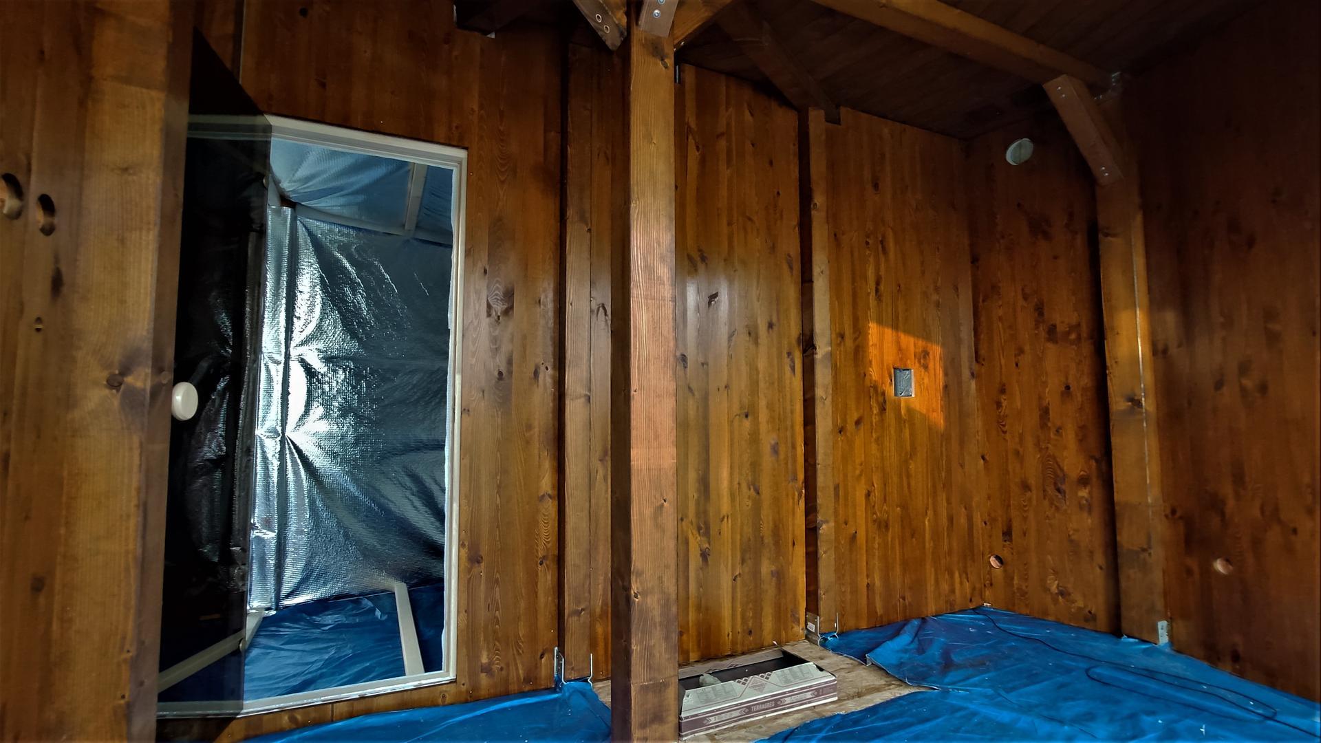 Relaxačný domček sauna a oddychová miestnosť ... plány, príprava a realizácia - Obrázok č. 104