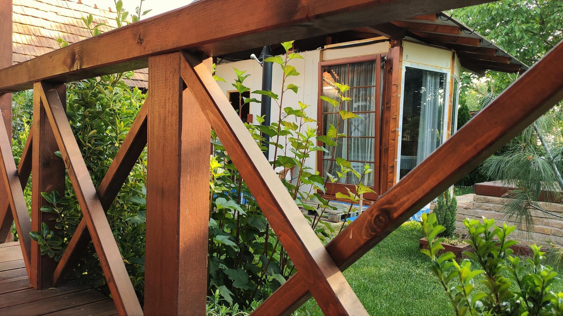 Relaxačný domček sauna a oddychová miestnosť ... plány, príprava a realizácia - Obrázok č. 244