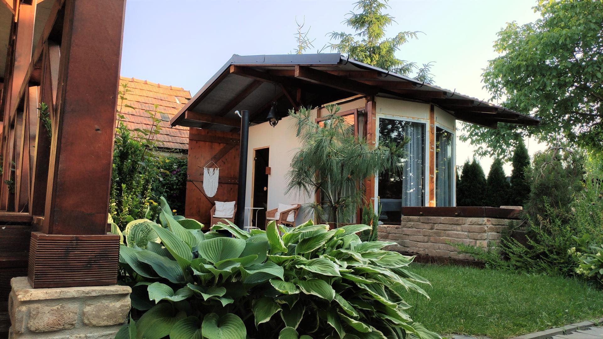 Relaxačný domček sauna a oddychová miestnosť ... plány, príprava a realizácia - Obrázok č. 245