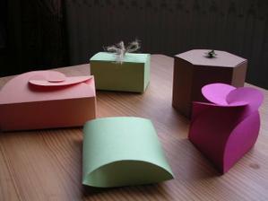krabicky  na cukricky