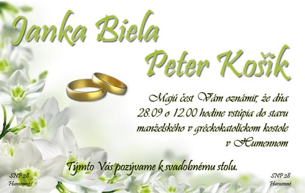 Inspiracie pre nasu svadbu - asi toto :)
