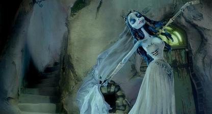 a ako corpse bride sa cítiť a lietať v oblakoch...