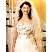 """lorelai gilmore a jej """"svatební"""" :o)"""