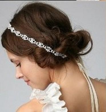 """Všetko handmade :o) - """"obyčajná"""" čipka vo vlasoch... :o)"""