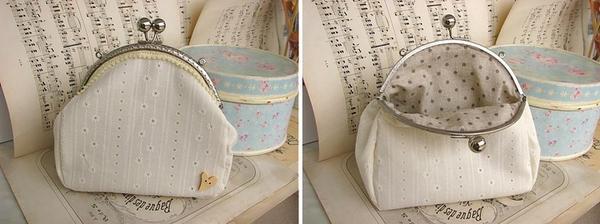 handmade kabelka od limi iba pre mňa! ... a bodky vovnútri!