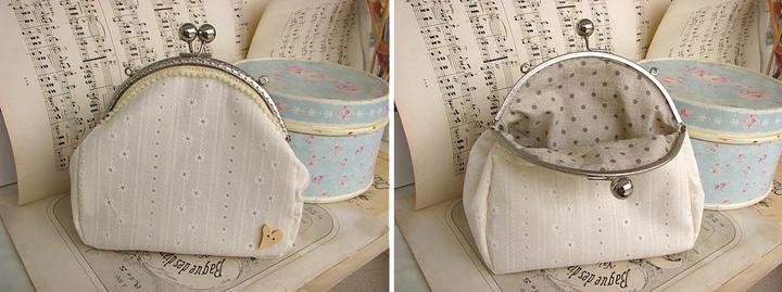 Just little something... - handmade kabelka od limi iba pre mňa! ... a bodky vovnútri!