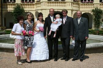 s rodiči a sourozenci