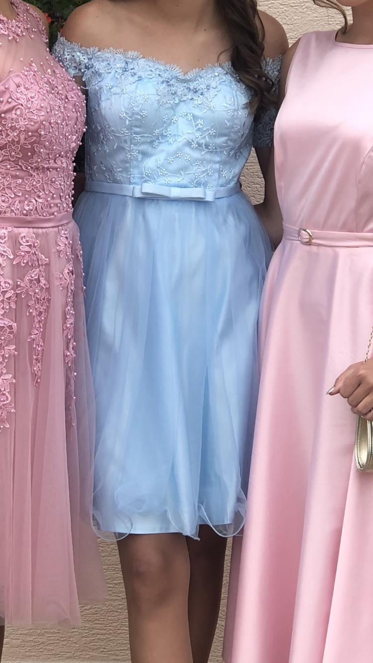 Šaty nebíčkovo modré - Obrázok č. 4
