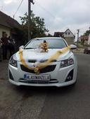 Zlato Biela výzdoba auta,