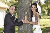 Novomanželé Míra a Tereza