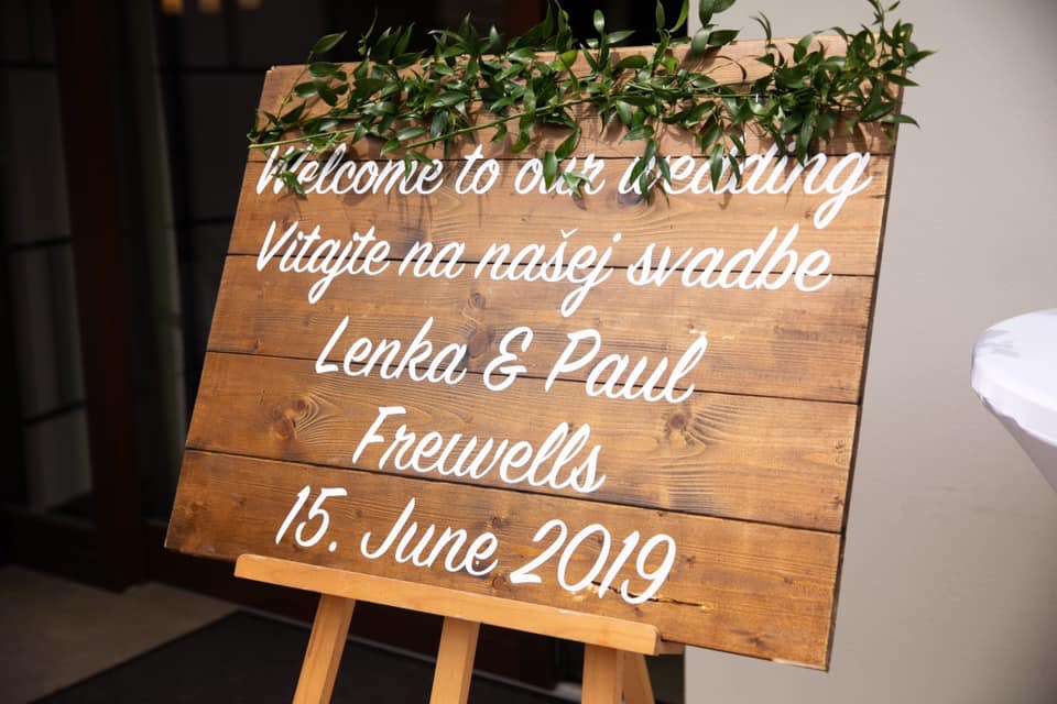 Svadobna vyzdoba 15.6.2019 Restauracia Macho - Obrázok č. 5