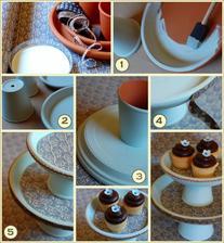 Místo klasického dortu chceme cupcakes :-). Jen musím vyrobit dostatečně velký stojan, kde se jich vejde asi 50 :-D