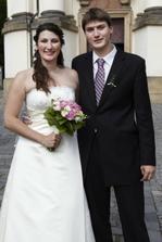 Nevěsta s bráškou Marťou