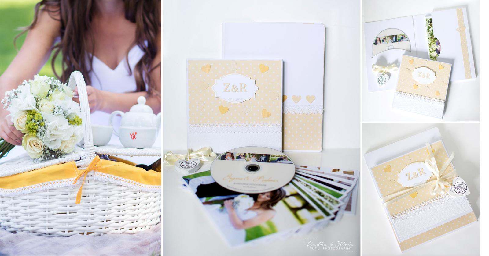 Svadobné fotky v handmade fotoalbume - Obrázok č. 3