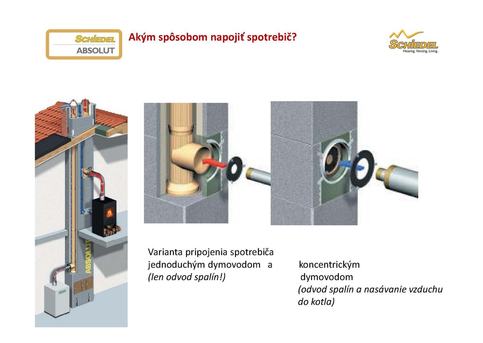 Ako napojiť kondenzačný kotol na komín ABSOLUT bez potreby vložkovania - Obrázok č. 3