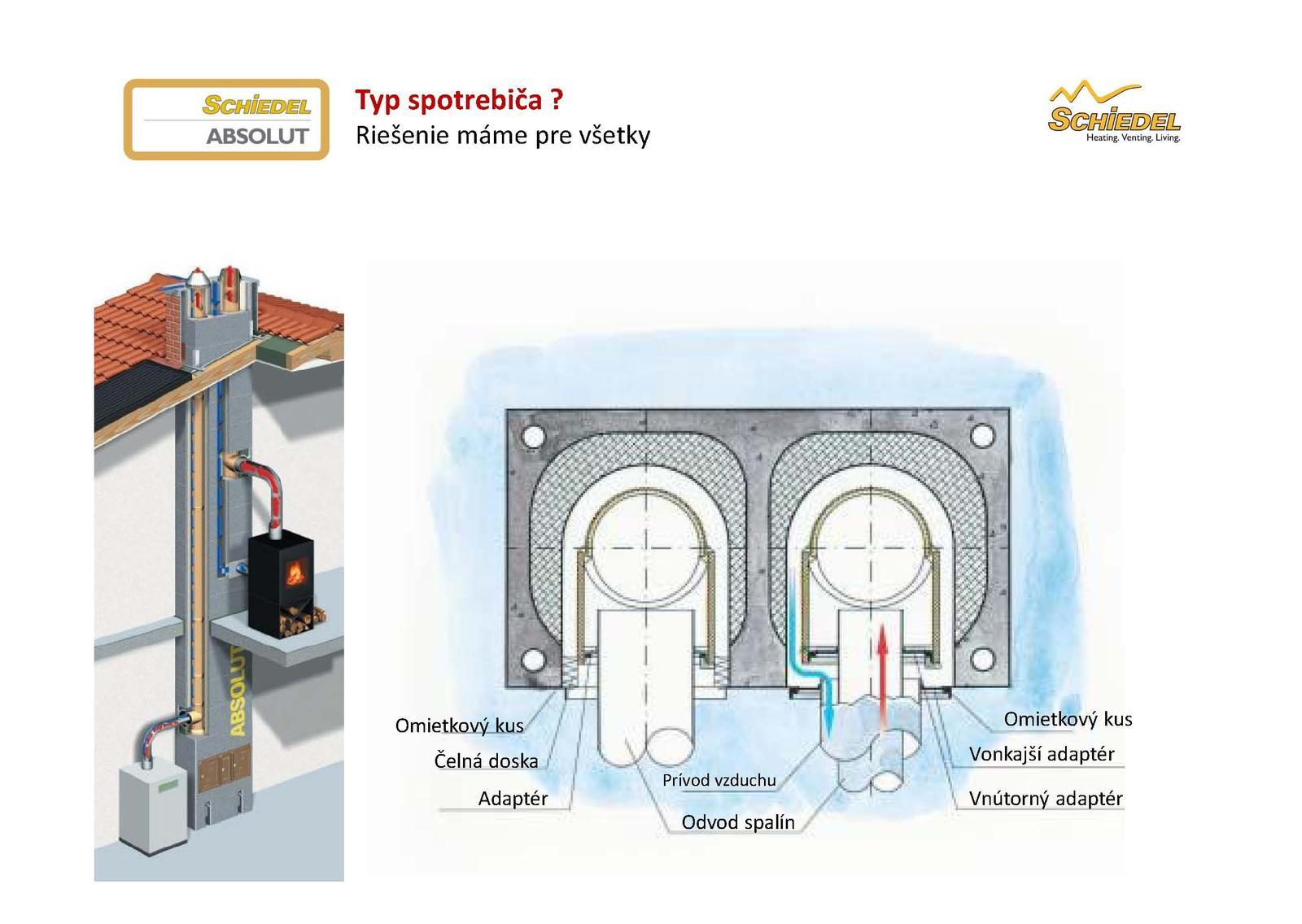 Ako napojiť kondenzačný kotol na komín ABSOLUT bez potreby vložkovania - Obrázok č. 4