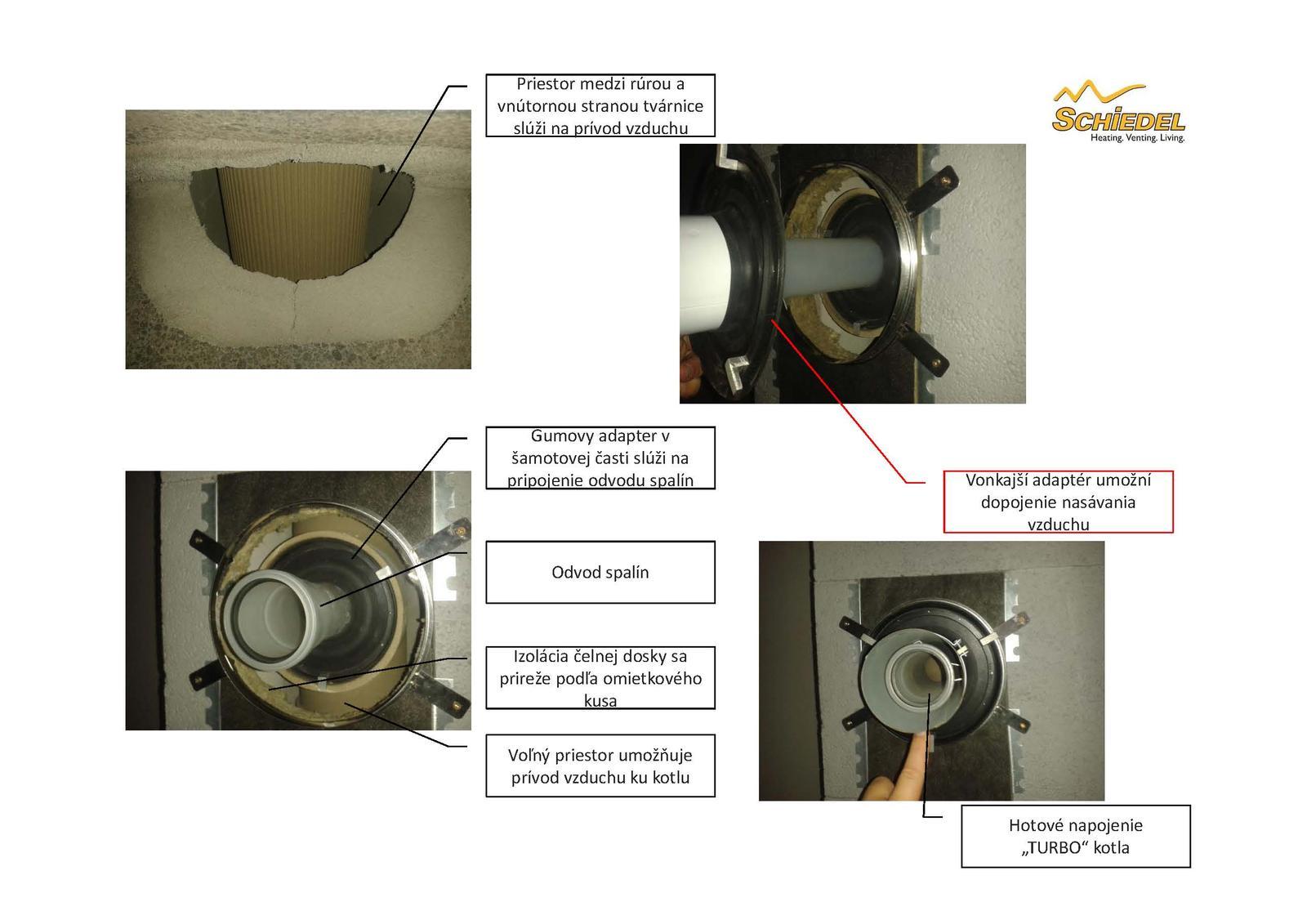 Ako napojiť kondenzačný kotol na komín ABSOLUT bez potreby vložkovania - Obrázok č. 6