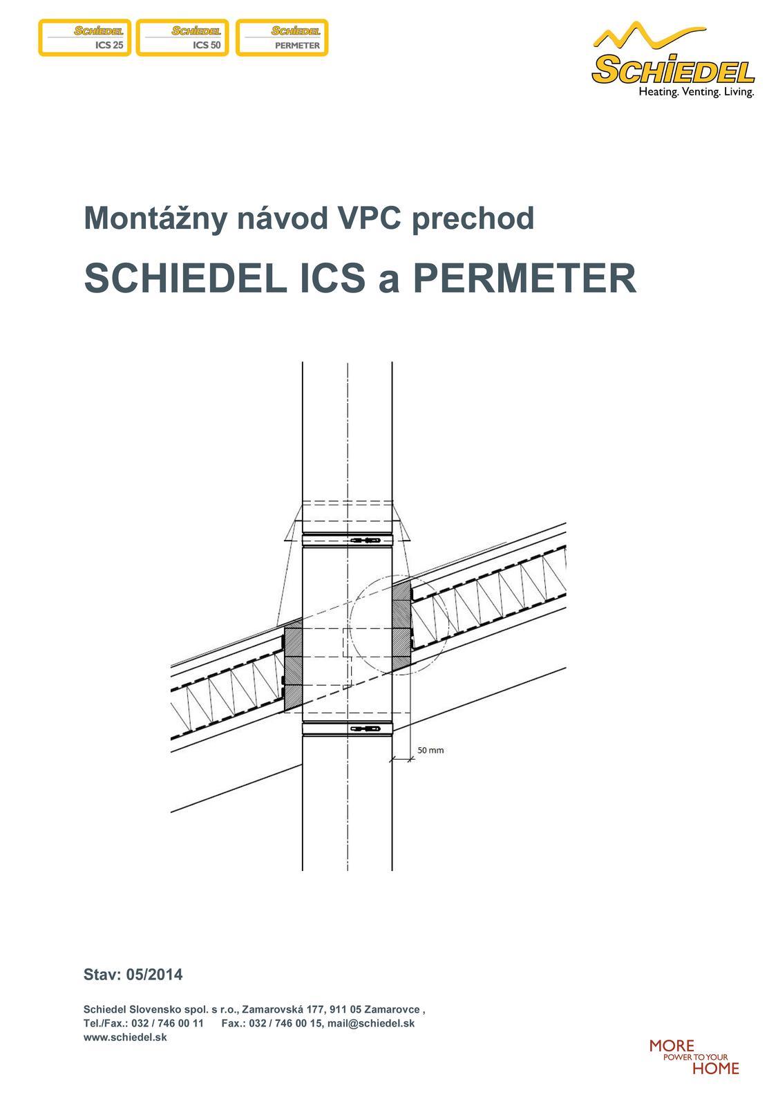 VPC prechod - napojenie izolacnych vrstiev na komin - Obrázok č. 1