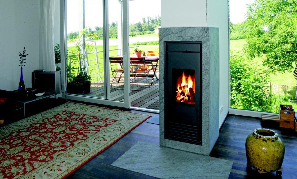 Schiedel Kingfire - Kingfire ako deliaci prvok a miesto pohody a nezávislosti.