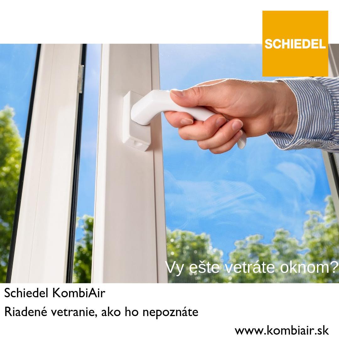 Najtichšia rekuperácia na trhu  - Schiedel KombiAir - Obrázok č. 3