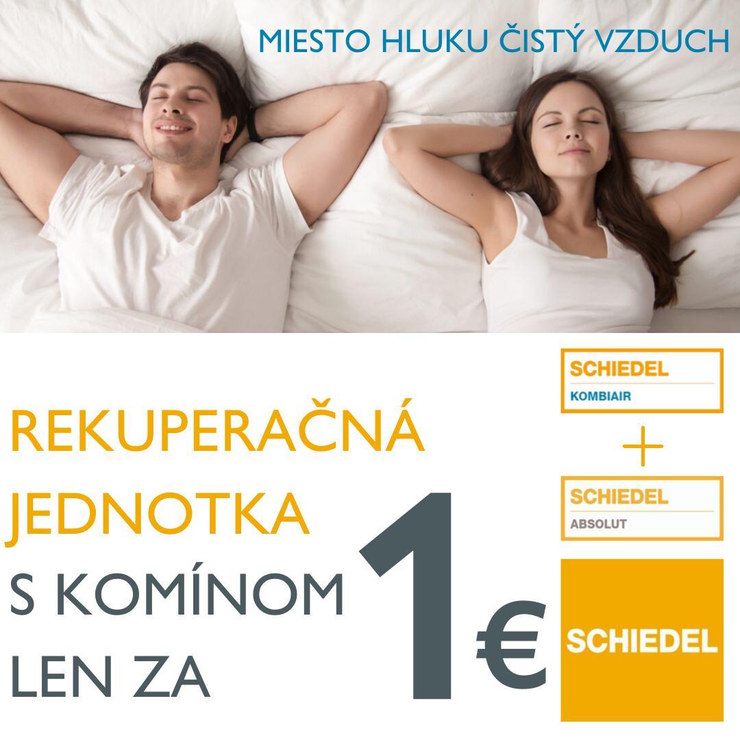 Komín Schiedel ABSOLUT za 1 € - Obrázok č. 1