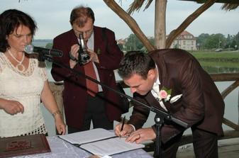 foto - svatebčané