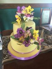 Najnovší výtvor našej cukrárky. Už sa teším na našu tortu.